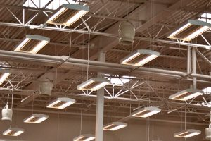 Destratification fans for Arenas and Indoor Stadiums