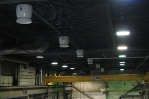 ZOO Fans for Auto Manufacturing Facilities