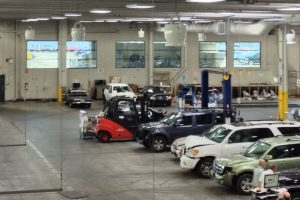 ZOO Fans for Auto Repair Facilities