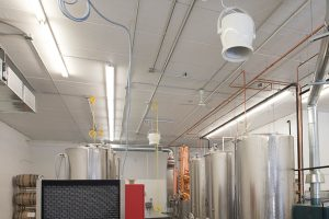 Fans for temperature controlled facilities