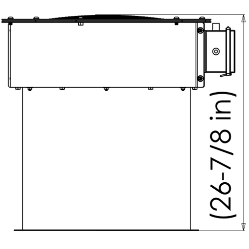 Technical drawing H120 and H140