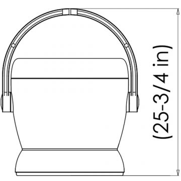 Technical drawing H60 and H65