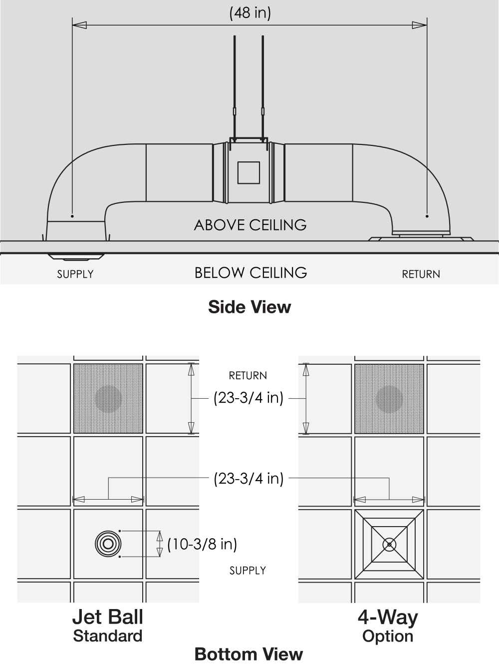 IC30 AC technical drawing