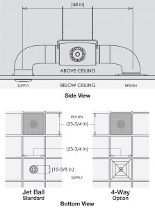 IC30 Silent technical drawing