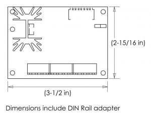 Dimensions for AVS 7.5A