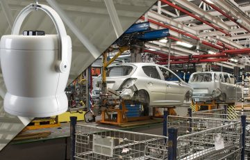 destratification fans for the automotive industry
