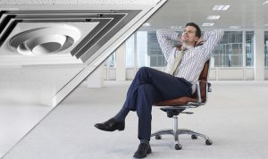 destratification fans for offices