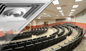 destratification fans for educational facilities